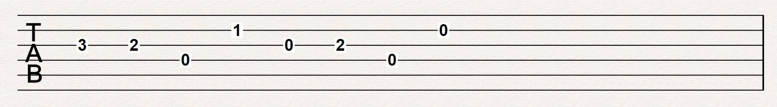 Tab Numbers