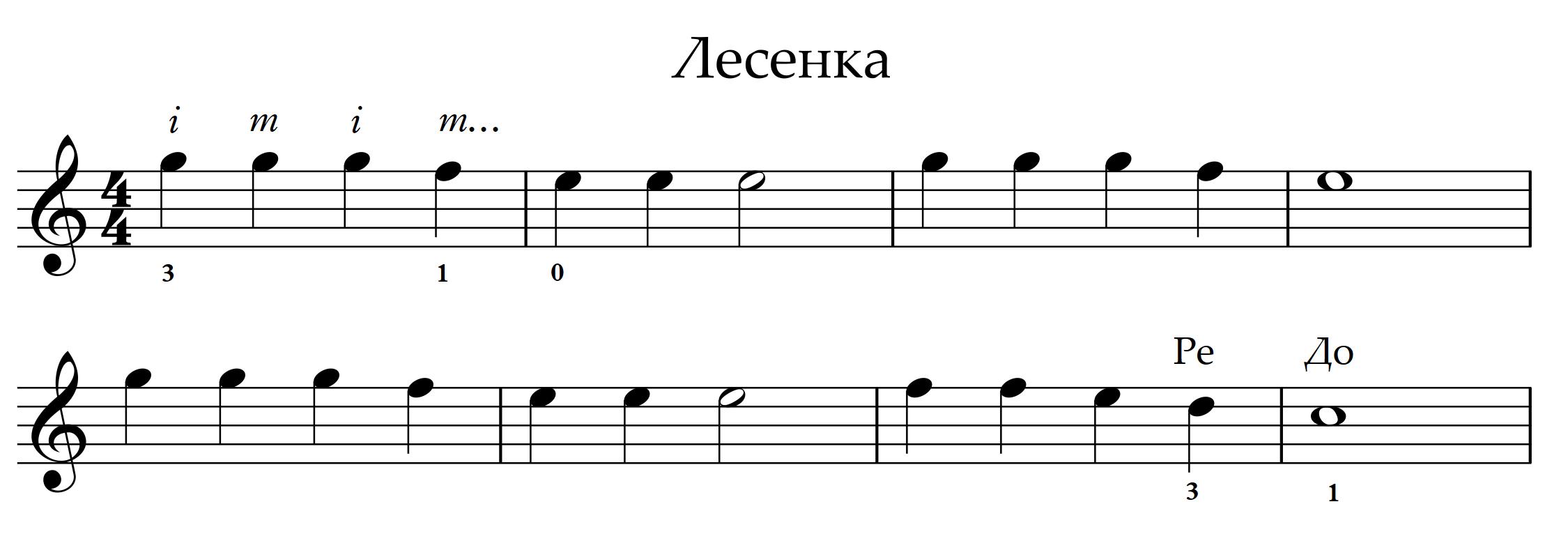 4 Lesenka