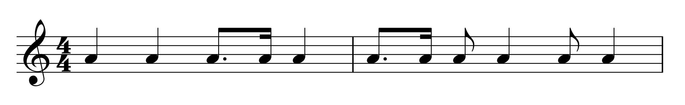 8.-16 rythm