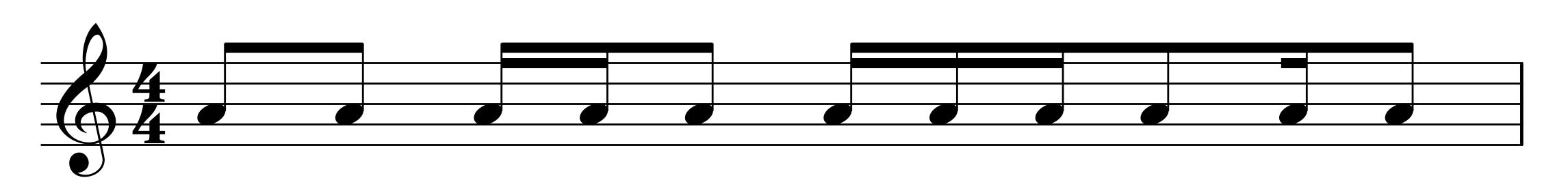 8-16 rythm